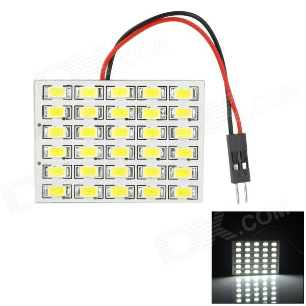 HD3028 T10 / BA9S / Festoon 15W 600lm 30-SMD 5630 LED White Light Car Roof light - (DC 12V)