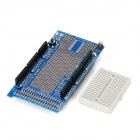 MEGA ProtoShield V3 Prototype Expansion Board w/ Breadboard - Blue + Black