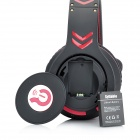 Syllable G18-001 Bluetooth v4.0 Noise Reduction Headphones w/ Microphone - Black + Red
