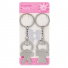Buy Valentine's Day Gift - Stainless Steel Funny Kid Couple's Keychains