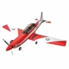 ART PC-9 2,4 GHz 4-Kanal Remote Control Model Airplane - Red + White