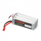 GE POWER 22.2V 2200mAh Lithium Battery for R/C Helicopter - Black + Silver