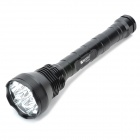 Buy RUSTU R1200S 7500lm 5-Mode White Flashlight 12 x Cree XM-L T6 - Black (3 26650 / 18650)