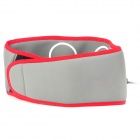 "2.1"" LCD Pulse Fat-Reduction Massage Waistband - Red + Grey"