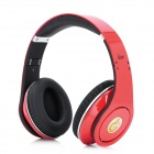 Syllable G04-201 Wired Game Headphones w/ Microphone for iPhone 4 / 4S - Red + Black