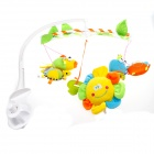 YINGXUE 309 Various Sea Animals Style Polyester Baby Bed Music Bell - Yellow + Green + Blue + Orange
