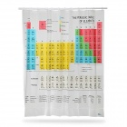 Periodic Table of the Elements Pattern Shower Curtain