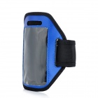 Fashion Sports Outdoor Armband for Ipod Touch 5 - Blue + Black