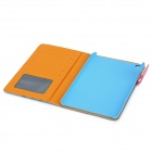 Basketball Pattern Protective PU Leather for Ipad MINI - Blue