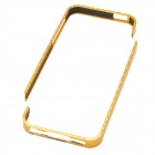 Detachable Protective CrystalBumper Frame for Iphone 5 - Golden