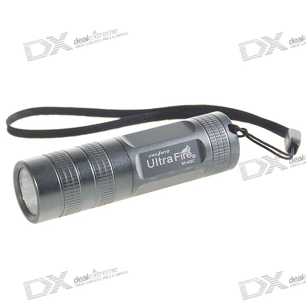 UltraFire WF-602C 5-Mode 150-Lumen LED Flashlight w/ Cree Q2-WC / Strap (1*CR123A)