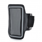 Sports Outdoor Armband for Iphone 5 + Ipod Touch 5 - Black + Grey