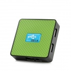 Z-038 USB3.0 4-Port USB 3.0 HUB - Green + Black