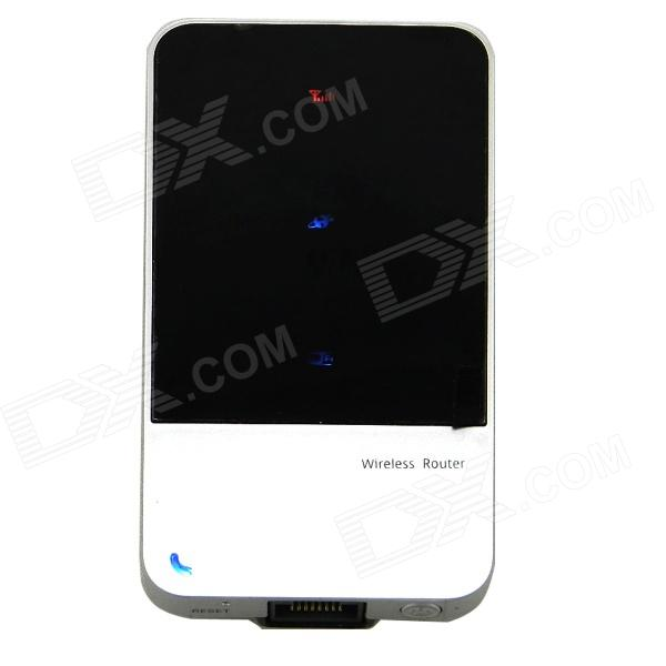 L10 Portable Multimode 3G WCDMA IEEE802.11b/g/n Wi-Fi Wireless Router - Black + Silver