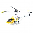 3.5-CH 180mAh USB Rechargeable Mini R/C IR Helicopter w/ Remote Controller - Yellow