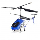 3.5-CH 180mAh USB Rechargeable Mini R/C IR Helicopter w/ Remote Controller - Blue