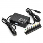 Buy Universal 80W USB Car Power Supply Charger 8-Adapter Cell Phone / PDA GPS - Black