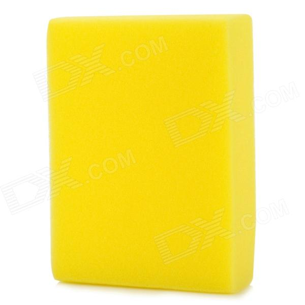 Professional Car Washing Sponge Pad - Yellow