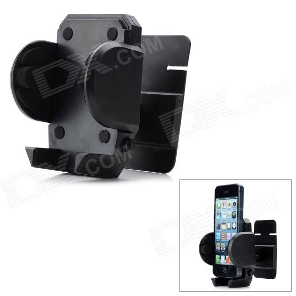 SHUNWEI SD-65 Universal Adjustable Car Vent Holder Stand Mount Bracket for Cellphone - Black universal air conditioning vent car mount holder