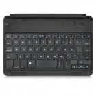K61-5 Rechargeable Bluetooth V3.0 61-Key Keyboard for iPad Mini - Black