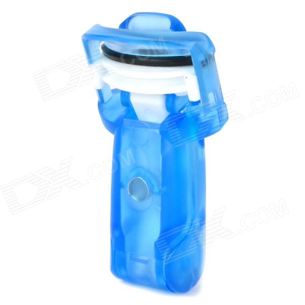 Portable Folding Eyelash Clip Tool - Blauw + Wit