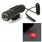 5mW Aluminum Alloy Red Dot Laser Scope Gun Aiming Sight - Black (1 x 123A)