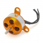 A1504-2700KV Outer Rotor Brushless Motor - Orange + Silber