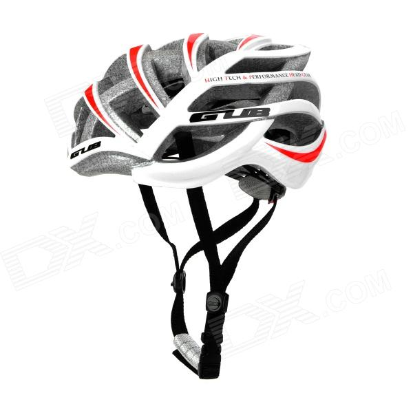 GUB Style 26-Venthole Outdoor Sports Bicycle Cycling Helmet - White + Red