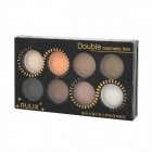 Rulix 8683 Diamond Powder 8-in-1 Earthy Series Makeup Eye Shadow - Multicolored