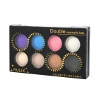 Rulix 8683 Diamond Powder 8-in-1 Candy Makeup Eye Shadow - Multicolored