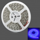 72W 2800lm 300-SMD 5050 LED Blue Light Car Decoration Strip (12V / 500cm)