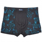 Men's Cotton Underpants - Black (Size XL)