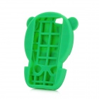Cute Watermelon Doll Style Protective Soft Silicone Back Case for Iphone 5 - Green