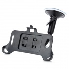 360' Rotation Car Mount Suction Cup Holder Stand w/ Bracket for HTC X920E Butterfly - Black