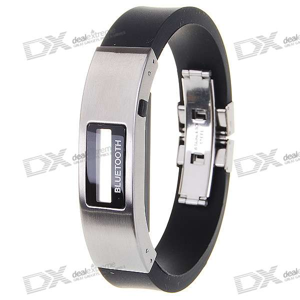 "0.5"" LCD Bluetooth Cell Phone Caller ID Display and Call Alert Vibrating Bracelet"