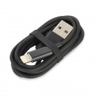 USB to 8Pin Lightning Charging & Data Cable for iPhone 5 / iPod Touch 5 / iPod Nano 7 - Black