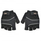 Cycling Half-finger Gloves - Black (Size L / Pair)