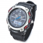 OHSEN AD1209-BW Men's Sport Analog + Digital Quartz Wrist Watch - Black (1 x SR626)
