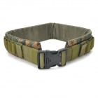 Military Tactical Nylon Shotgun Belt - Camouflage Deep Green