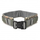Military Tactical Nylon Shotgun Belt - Camouflage Light Gray