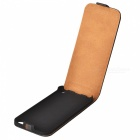 Protective Genuine Leather Cover PC Back Case for Ipod Touch 5 - Black