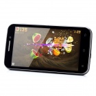 "H7500+ Android 4.1 Quad-Core 3G WCDMA Bar Phone w/ 5.0"" Capacitive Screen, Wi-Fi and GPS - Black"