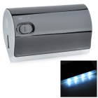Universal-5200mAh Mobil External Power Battery Charger w / 4-LED Light for iPhone / Samsung - Schwarz