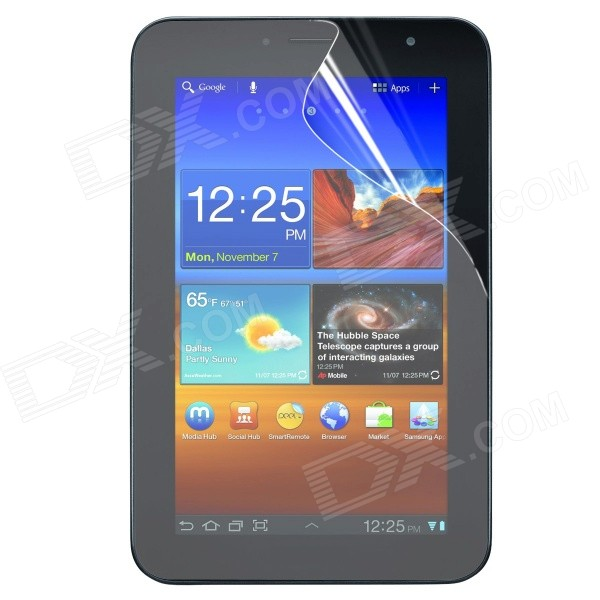 "ENKAY Protective Clear Screen Protector for 7"" Samsung Galaxy Tab P6200 / P6210"