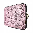 "ENKAY ENK-2002 Heat Transfer Printing Protective Bag for 15"" / 15.4"" / 15.6"" Laptop Notebook - Pink"