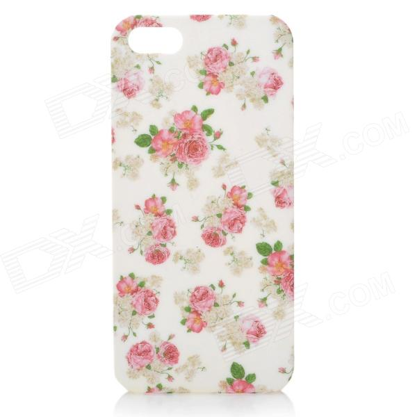 Protective Rose Pattern Plastic Back Case for Iphone 5 - Multicolored цифровой фотоаппарат fujifilm x t10 body silver