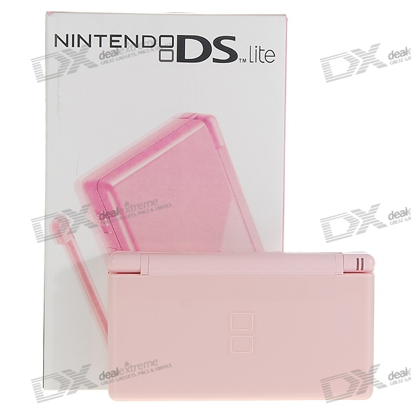 Nintendo DS Lite Portable Entertainment Console - Pink (Refurbished)