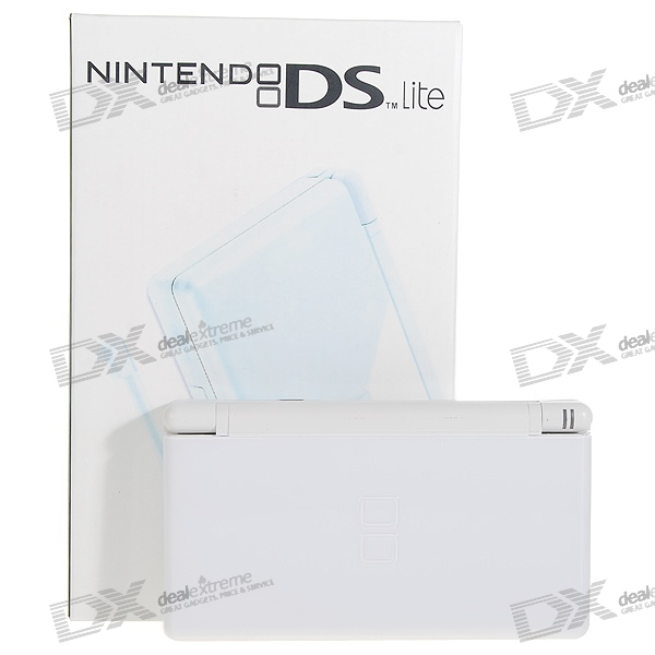 Nintendo DS Lite Portable Entertainment Console - White (Refurbished)