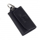 Beidi Erke Genuine Leather Car Key Case - Black