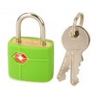 JUST LOCK TSA389 Zinc Alloy TSA-accepted Travel Lock - Green